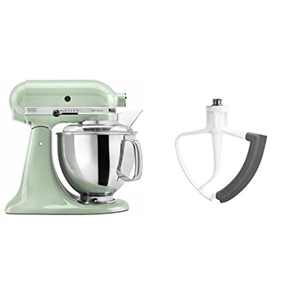 Beau KitchenAid KSM150PSPT Artisan Series 5 Qt. Stand Mixer With Pouring Shield    Pistachio And