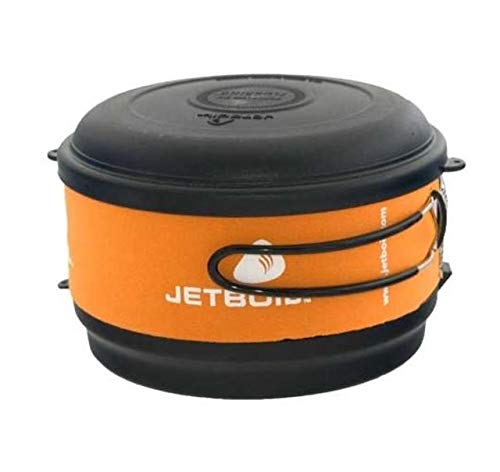 Jetboil Group Cooking System - Jetboil 1.5-Liter FluxRing Camping Cooking Pot, Carbon
