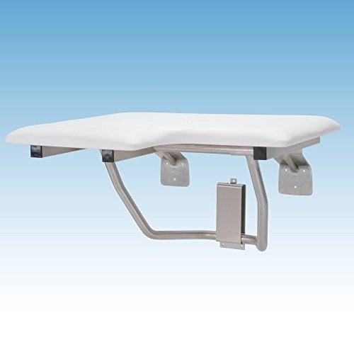 Mustee 390.401 Right Hand L-Shaped Fold Down Seat Bench, ...