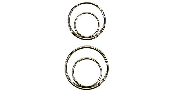 HY-KO PROD CO KC228 4PK Split Key Rings