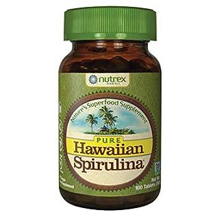 Pure Hawaiian Spirulina-500 mg Tablets 100 Count - Natural Premium Spirulina from Hawaii - Vegan, Non-GMO, Non-Irradiated - Superfood Supplement & Natural Multivitamin (B0039ITKRY) | Amazon price tracker / tracking, Amazon price history charts, Amazon price watches, Amazon price drop alerts