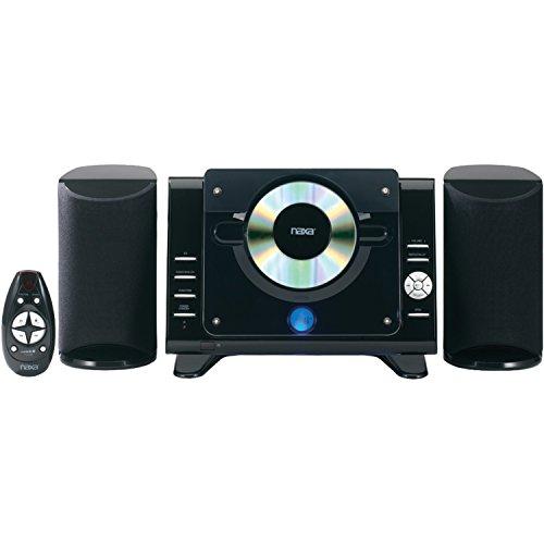 NAXA Electronics Digital CD Microsystem with AM/FM (Best Naxa Electronics Speaker Stands)