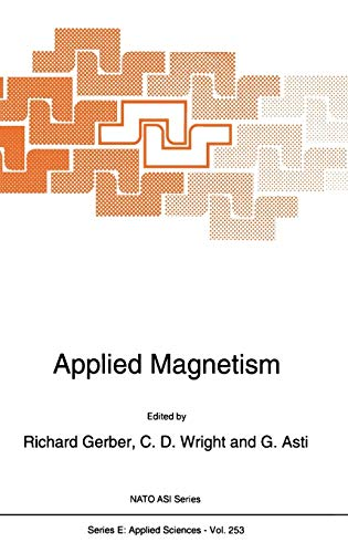 Applied Magnetism (Nato Science Series E:)