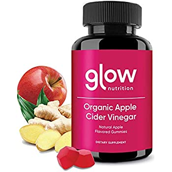 Amazon.com: Glow Apple Cider Vinegar Gummies - 4 Pack