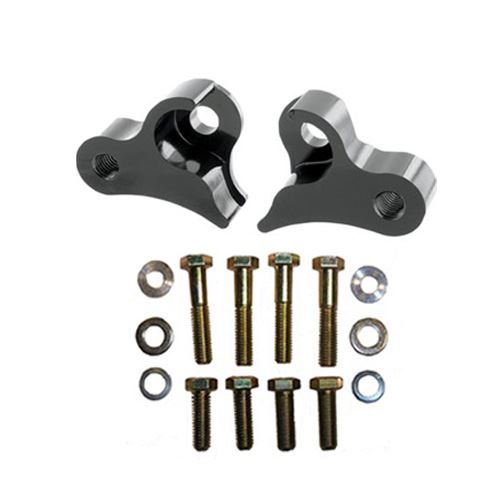 Price comparison product image Pingel 29252 Black Rear Lowering Bracket Pairs for Fl Model