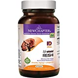 New Chapter Reishi Mushroom - LifeShield Reishi for Healthy Aging with + Organic Reishi Mushroom + Vegan + Non-GMO Ingredients - 60 ct