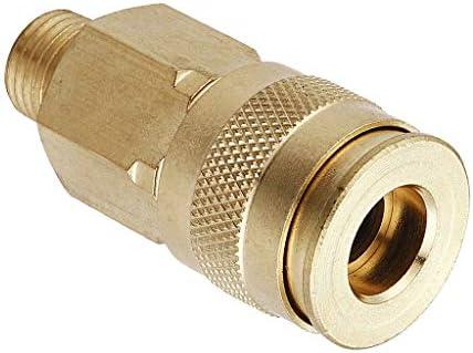 エアホースアダプター ホースコネクター プラグ 1/4インチクイックカプラー オスメス 配管用 全4タイプ - A