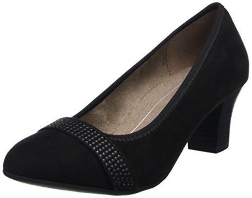 Softline black Noir Escarpins 22474 Femme RqpBArwRI