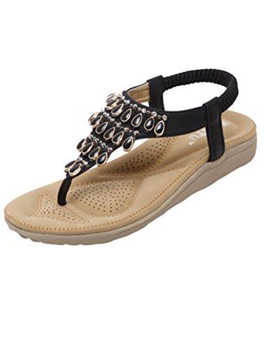 MatchLife - zapatos y sandalias mujer - Style4-Black
