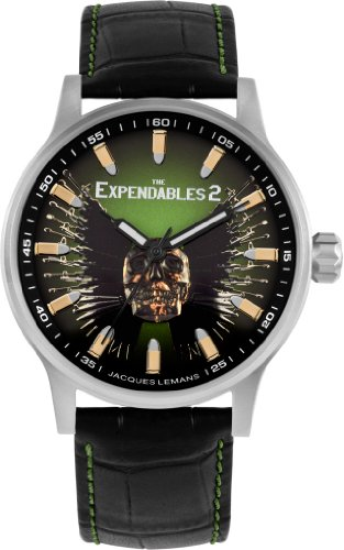 Jacques Lemans Unisex E-226 The Expendables 2 Analog Watch