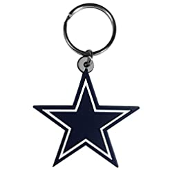 Siskiyou NFL Flex Rubber Key Chain