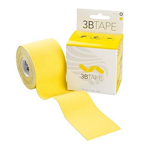 3B Scientific vendaje para quinesiología classic, amarillo, 5m x 5cm