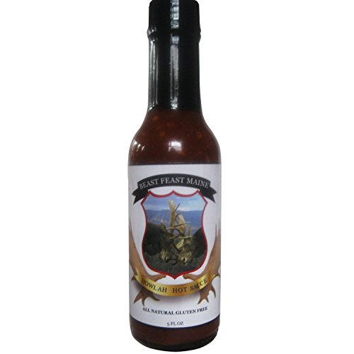 Howlah Hot Sauce | All Natural Handcrafted Gluten Free Spicy Sauce | Made with Our Proprietary Worcestershire Sauce, New England Maple Syrup and other spices (5 oz) (Huy's Costumes)