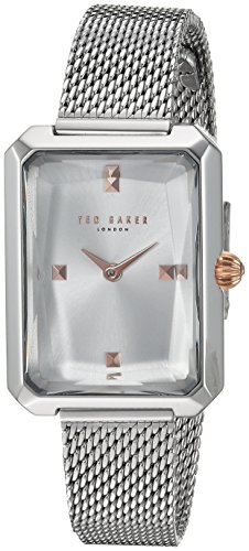 Ted Baker Women's 'CARA' Quartz Stainless Steel Casual Watch, Color:Silver-Toned (Model: TE50270010)