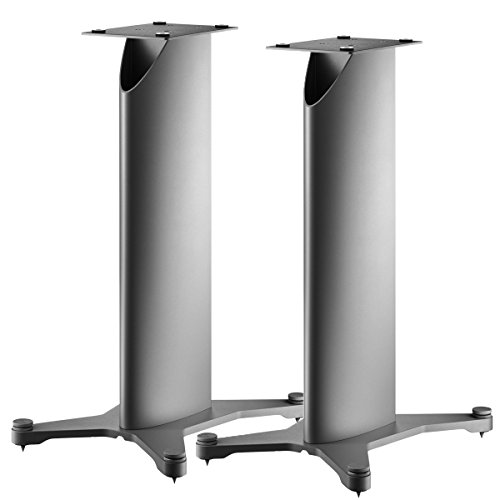 Dynaudio Stand 20 Speaker Stands for Bookshelf Speakers - Pair (Silver)