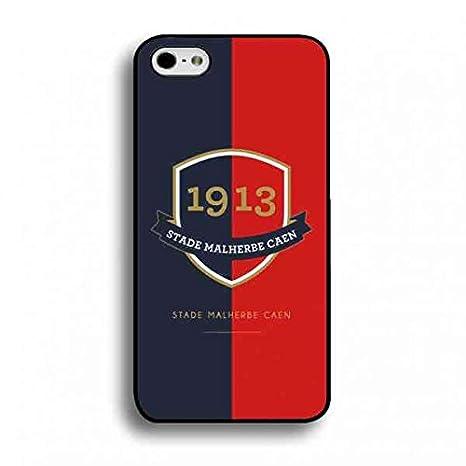 Caen - fútbol Club Logo Pattern Phone Carcasa, iPhone 6 Plus ...
