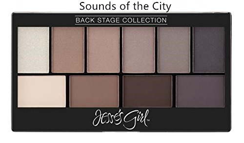 Backstage Beauty Collection (Jesse's Girl Back Stage Collection Eyeshadows (Sounds of the City))