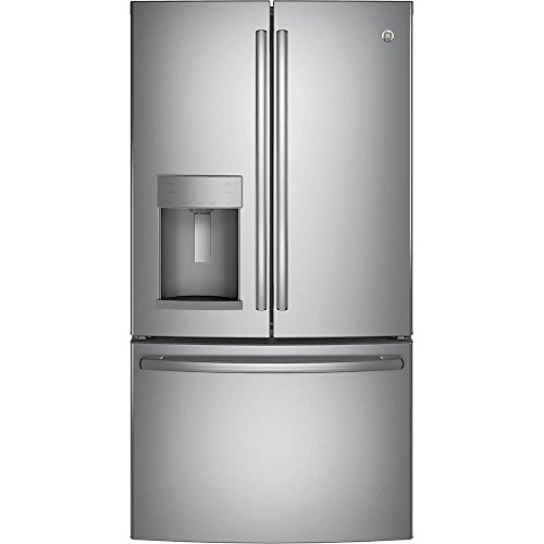 GE GYE22HSKSS 22.2 Cu. Ft. Stainless Steel Counter Depth French Door Refrigerator – Energy Star
