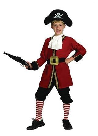 Amazon.com: Pams – Disfraz de capitán garfio – tamaño ...
