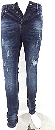 TOP TOUCH SLIM FIT RIPPED JEANS FOR MEN