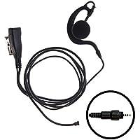 IMPACT 1-Wire Over the Ear Surveillance Earpiece for Motorola CLP1010 CLP1040 CLP1060 (M16-S1W-EH3)