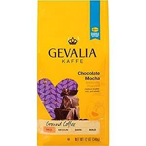 Amazon Com Gevalia Chocolate Mocha Mild Roast Ground