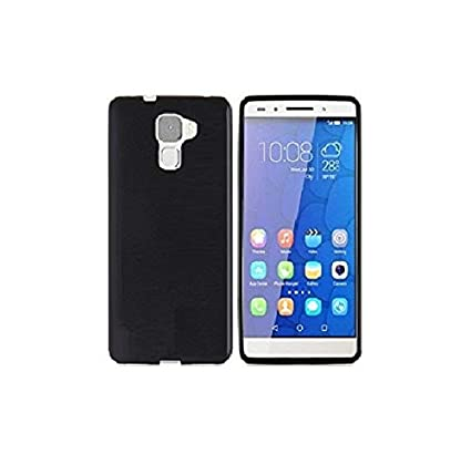 wholesale dealer 31521 d435e Azzil Back Cover for Huawei Honor 7 (Candy-Black)