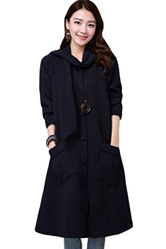 MatchLife - Abrigo - para mujer azul oscuro