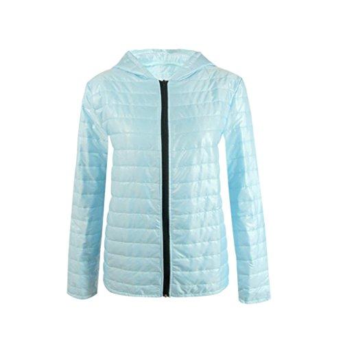 Sunfei Winter Womens Hooded Packable