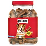 Milk-Bone Soft and Chewy Chicken 12 Vitamins and Minerals Recipe Healthy and Delicious Dog Snacks - 37 ounces Larger Image