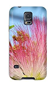New Style 8811150K96121202 Perfect Tpu Case For Galaxy S5/ Anti-scratch Protector Case (flower)