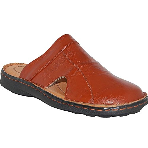 KRAZY SHOE ARTISTS Comfort Slip On Closed Toe Men Sandals Size, 9