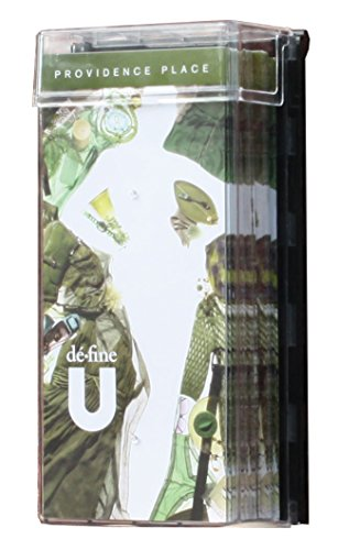 - Displays2go Outdoor Leaflet Holders for Trifold Brochures - Clear Polycarbonate with Black Backer (ODIM438)