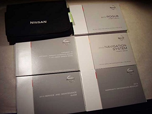2013 Nissan Rogue with navigation manual Owners Manual ()