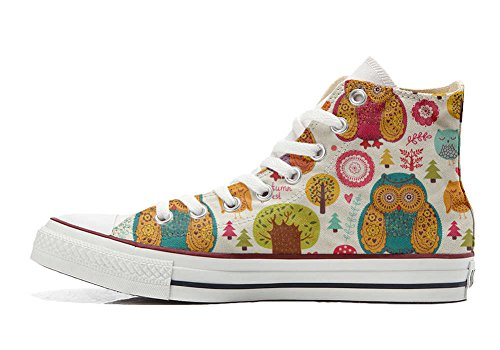 Converse All Star personalisierte Schuhe - HANDMADE SHOES - Autumn Forest