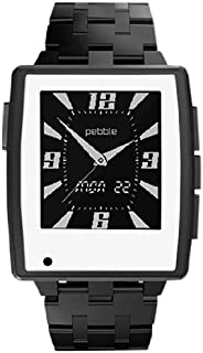 product image for Slickwraps Slickwraps Matte White Color Series Wraps/Skins for Pebble Steel Watch - Retail Packaging - Matte White