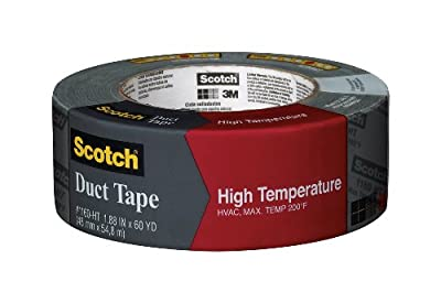 Scotch High Temperature Duct Tape, 1.88-Inch by 60-Yard