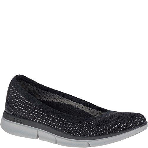 Sojourn Ballet Arch 6 Slip on Shoe Us grey Black m B Support 5 Womens Q2 Zoe Knit Merrell tqWBnUESq