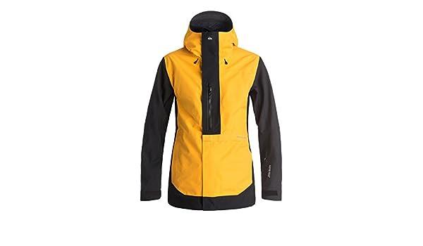 c02fb1bd36ec Quiksilver Snow Jackets - Quiksilver Travis Rice Exhibition Snow Jacket -  Cadmium Yellow  Amazon.ca  Clothing   Accessories