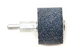 Forney 60051 Mounted Grinding Stone with 1/4-Inch Shank, Cylindrical, 1.5 x 1-Inch