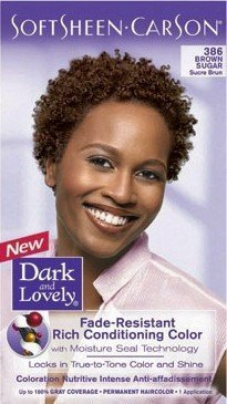 dark and lovely hair dye color 386 brown sugar - Dark And Lovely Coloration