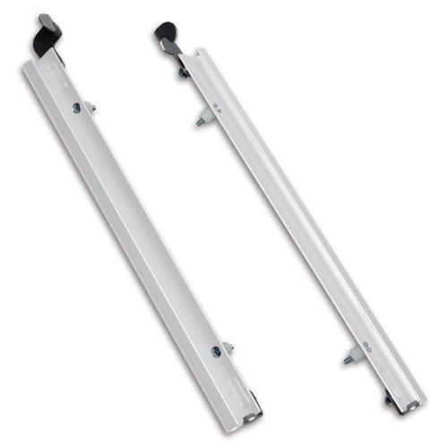 PlexiDor Performance Pet Doors Sliding Track with Flip Lock, Large, White ()