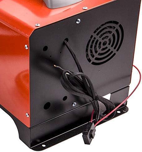 Maxpeedingrods 5kw Diesel Luftheizung Standheizung Lcd 4x Luftauslaß Für Lkw Sattelschlepper Rot Auto