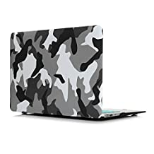 """13.3 inch Ultrabook Laptop Notebook Plastic Hard Shell Snap-on Case Cover Skin Sleeve Bag for 13 inches Macbook Pro 13.3"""" 13'' Non Retina Display A1278--City Camo"""