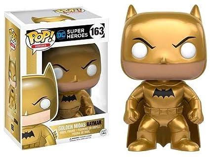 Funko - Figurine DC Comics - Golden Midas Batman Target Exclusive Pop 10cm  - 0889698128179
