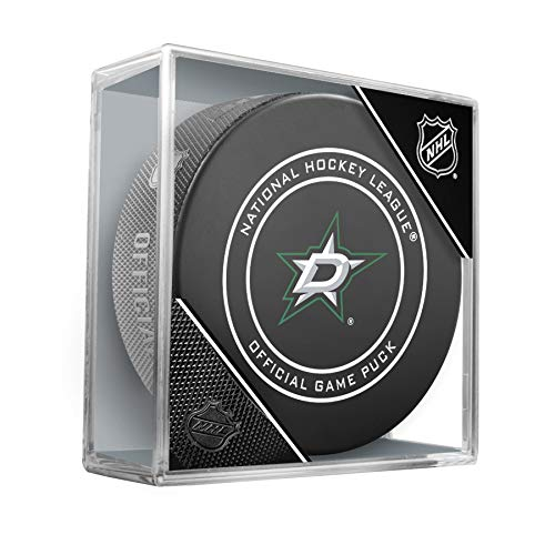 NHL Dallas Stars Official Game Puck