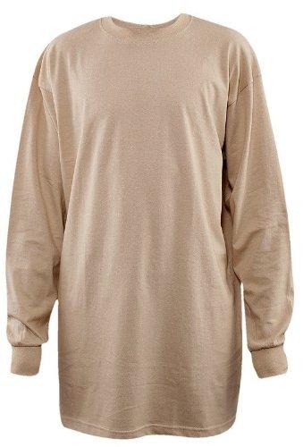 Urban Classics Tall Tee Shirt L/S TB009, size:3XL, Farbe:grey