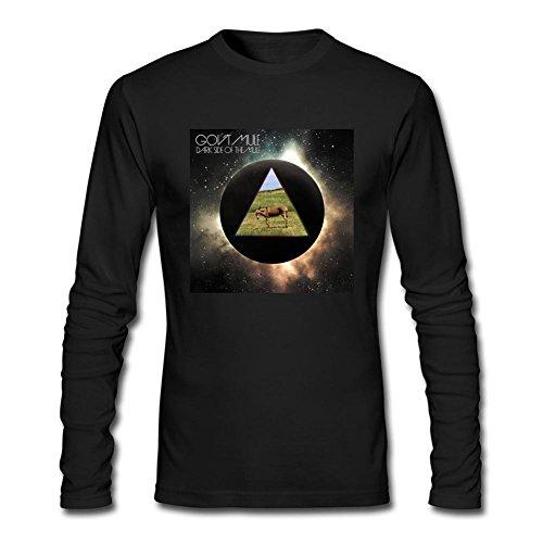 JUXING Men's Gov't Mule Band Logo Dark Side Of the Mule Long Sleeve T-shirt XXL ColorName (Mule Stoned)