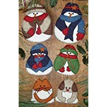 Snow Folk Ornament Kit-Set Of Six by Jo-Ann Fabric and Craft Stores