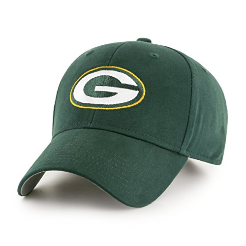 OTS NFL Green Bay Packers Children Cinch All-Star MVP Adjustable Hat, Kids, Dark Childrens Bay